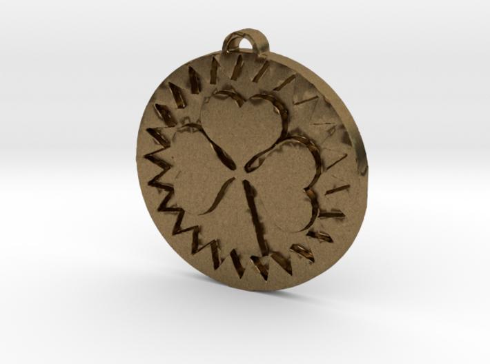 Heart Shamrock 3d printed