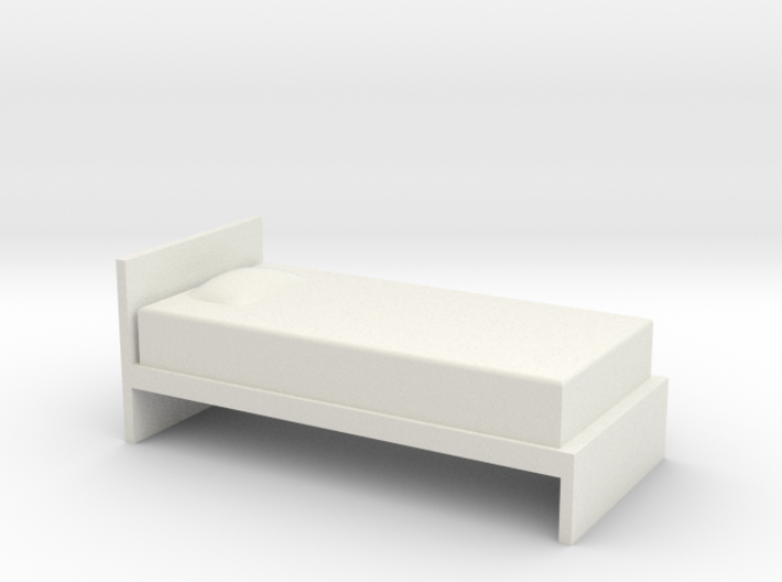 1:24 Simple Twin Bed 3d printed