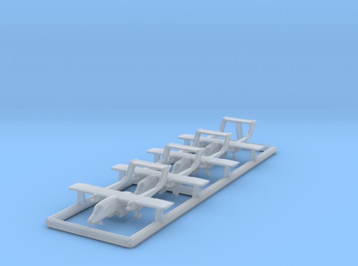 1/700 OV-10 with Gear x4 (FUD) 3d printed