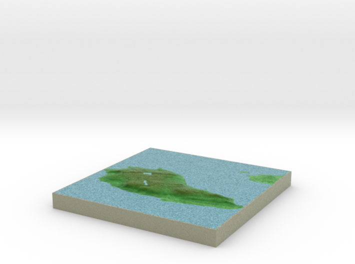 Terrafab generated model Tue Aug 18 2015 21:30:50 3d printed