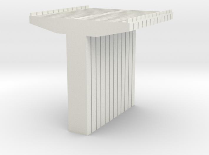 Bridge Supports V2 N Scale 3d printed