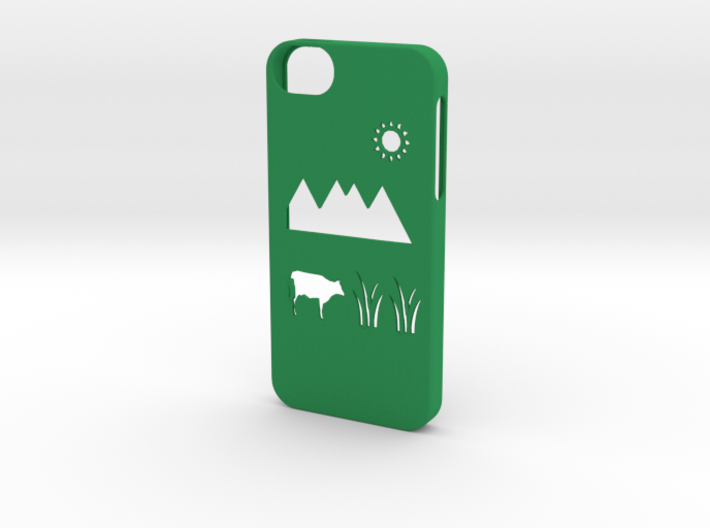 Iphone 5/5s meadow case 3d printed