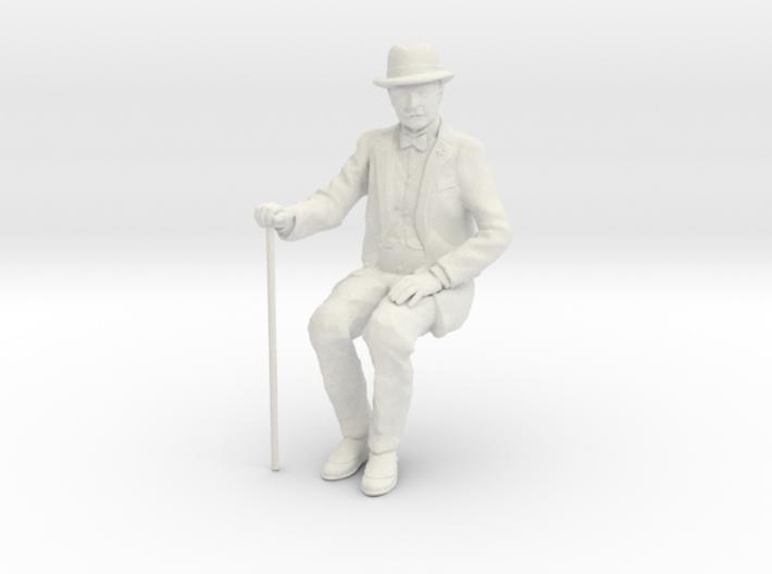 David Sitting WSF 7/8ths scale 3d printed