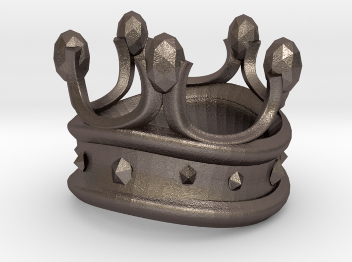 King Rook Ring 3d printed