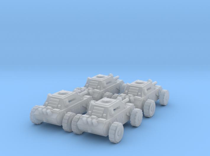 6mm SciFi Quad  3d printed