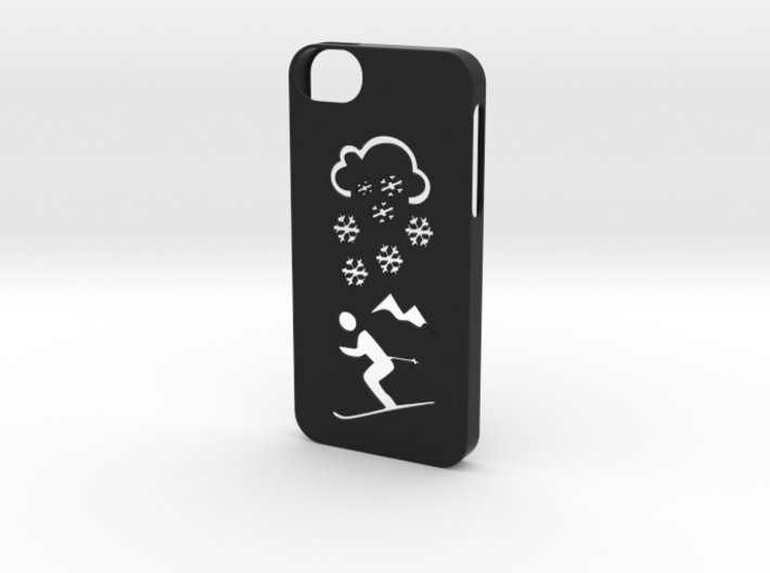 Iphone 5/5s winter case 3d printed