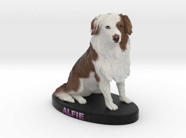 Custom Dog Figurine - Alfie 3d printed