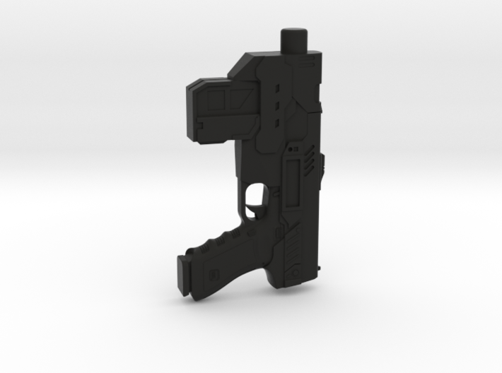 1/6 scale Judge Dredd Lawgiver 3d printed