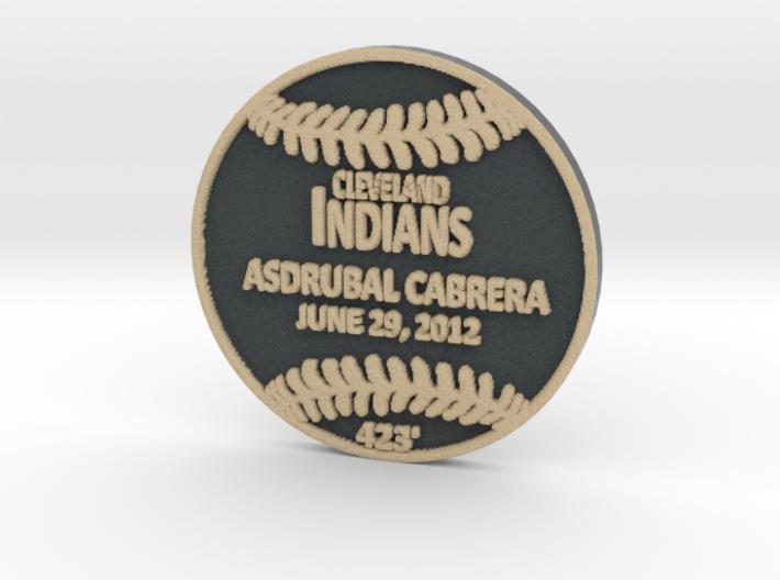 Asdrubal Cabrera 3d printed