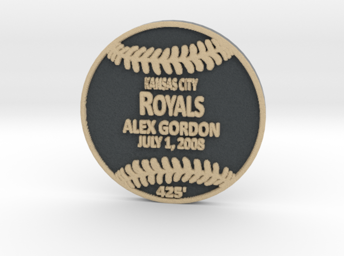 Alex Gordon 3d printed
