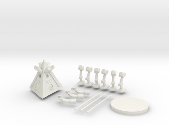 Tridrone 3d printed