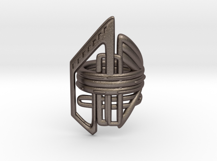 Balem's Ring2 - US-Size 13 (22.33 mm) 3d printed