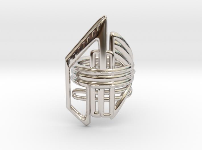 Balem's Ring2 - US-Size 12 1/2 (21.89 mm) 3d printed