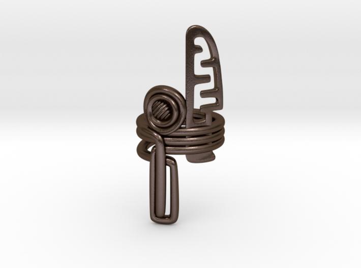 Balem's Ring3 - US-Size 8 (18.19 mm) 3d printed