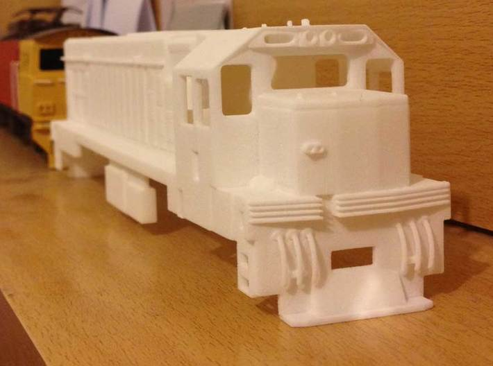 1:64 Scale New Zealand DC Class, Includes both ... 3d printed Printed in Stron & Flexible