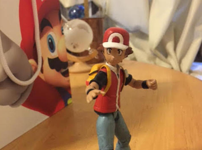 Backpack for TOMY Ash / Pokemon Trainer 3d printed So fitted
