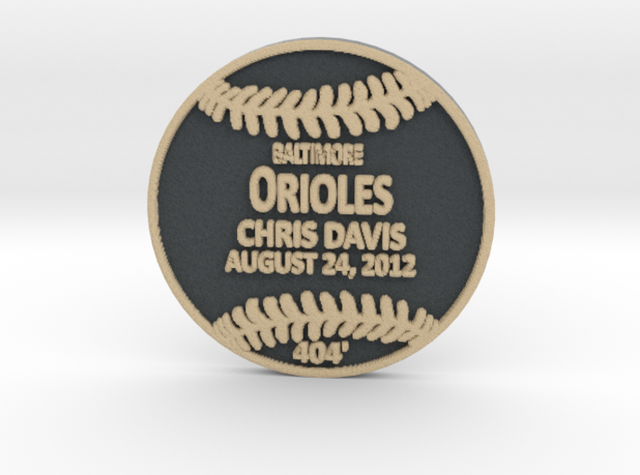 Chris Davis3 3d printed