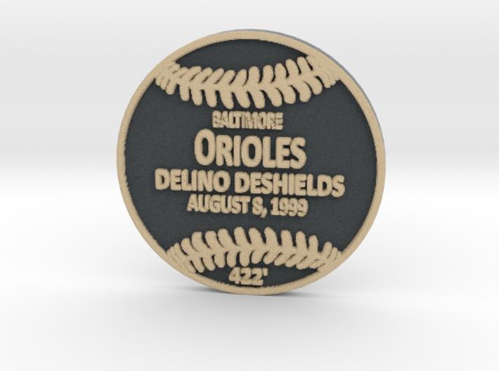 Delino Deshields 3d printed