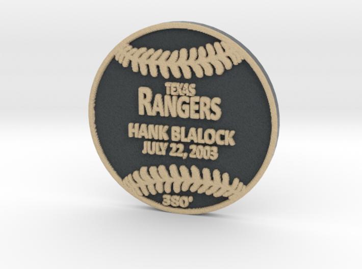 Hank Blalock 3d printed
