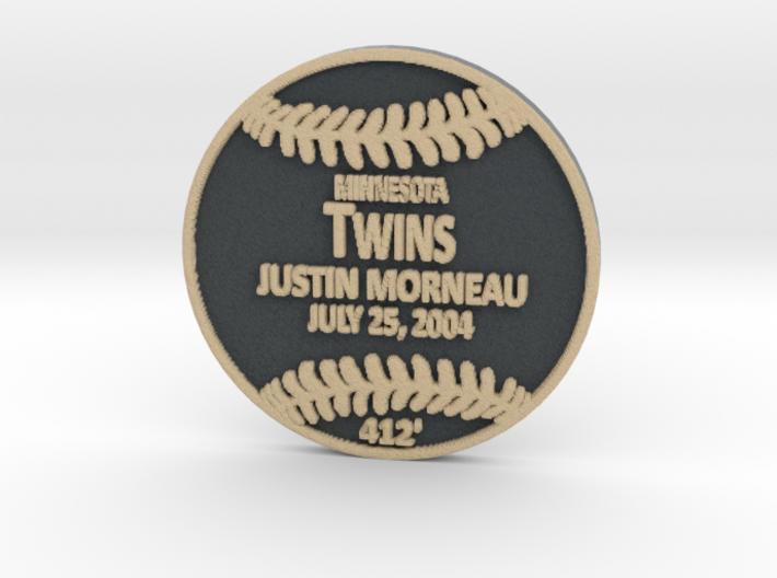 Justin Morneau 3d printed