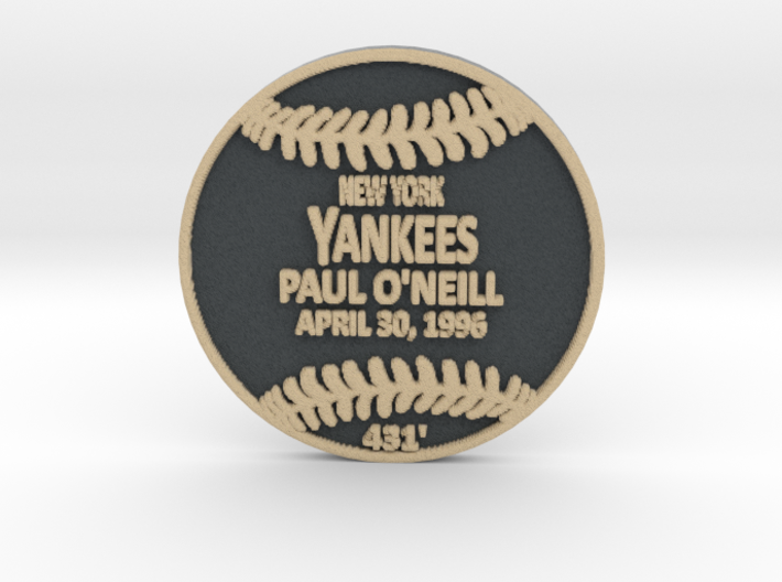 Paul O'neill 3d printed