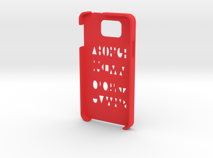 Samsung Galaxy Alpha Geometry case 3d printed