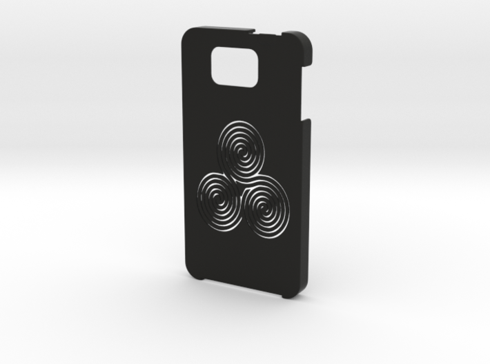 Samsung Galaxy Alpha Labyrinth case 3d printed