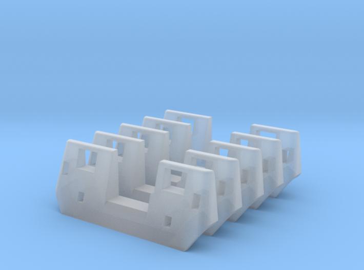 RTA/Metra F40PH Plow (N -1:160) 5X 3d printed