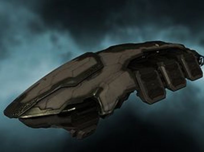 Purifier - Amarr bomber 3d printed