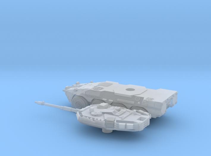 Centauro-2-piezas-144 3d printed