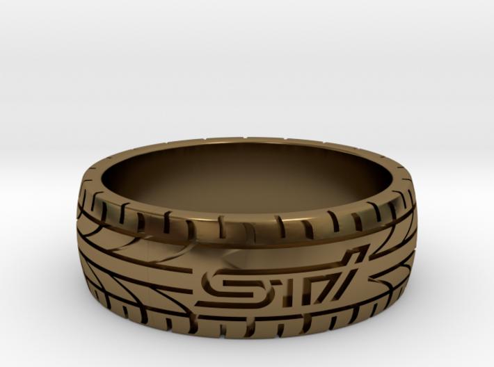Subaru STI ring - 21 mm (US size 11 1/2) 3d printed