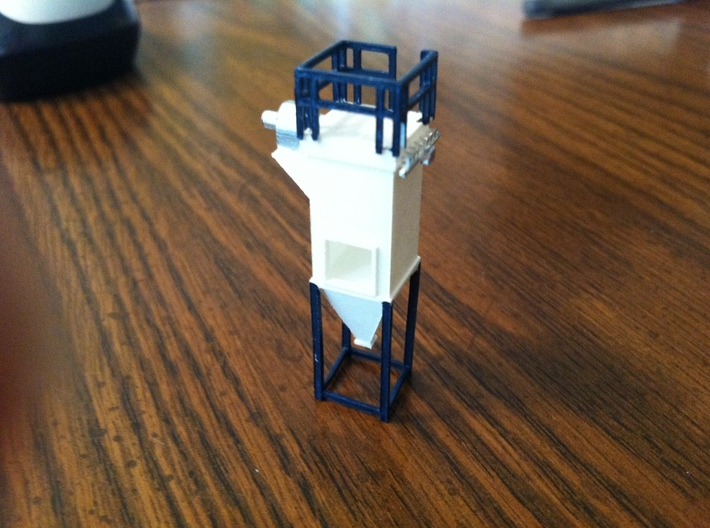 'HO Scale' - Dust Filter 3d printed