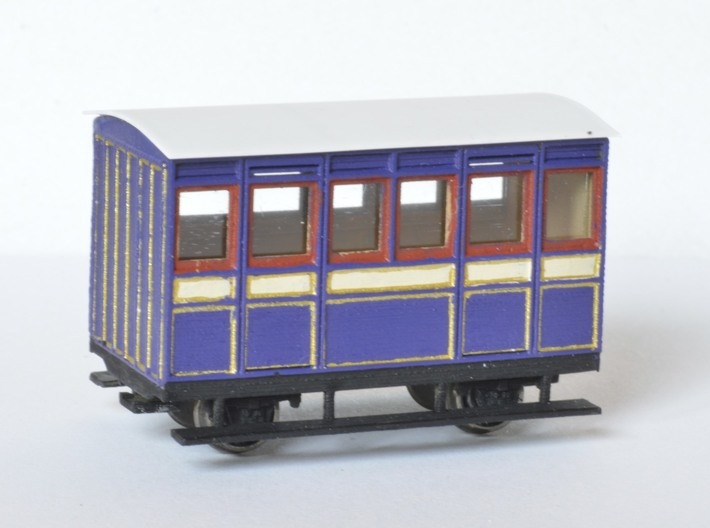 FR Ashbury 4w Carriage FIRST 3d printed