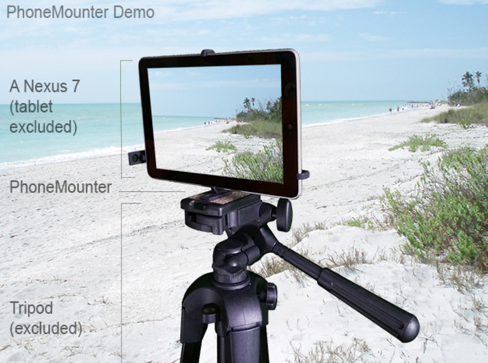 Acer Iconia Tab 8 A1-840FHD tripod mount 3d printed