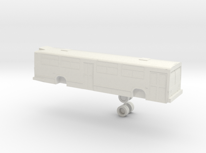 o scale GM/MCI/Nova Classic 2 door bus 3d printed