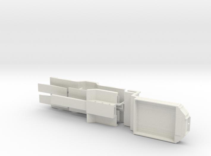 Tieflader ähnlich Broshuis V2 Druck 1:50 3d printed