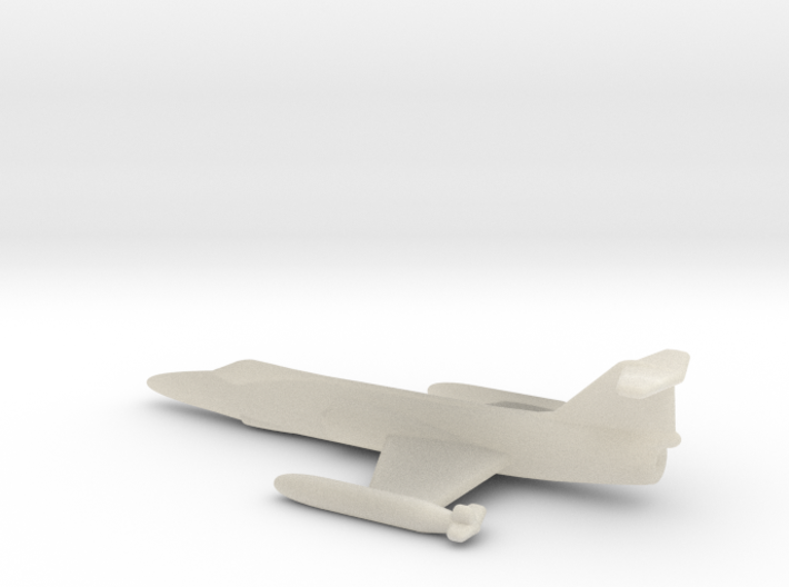 F104 Star Fighter 1 To 400 3d printed