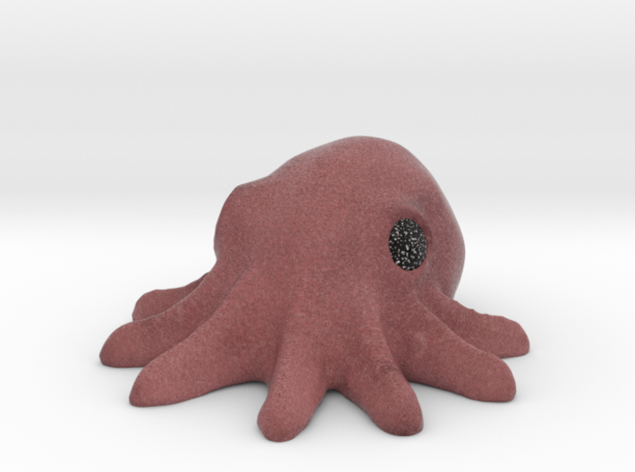 Full Color Octopus 3d printed