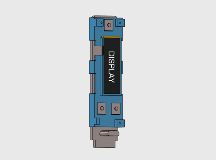 DNA75 DNA200 DNA250 - Mounting Plate 3d printed