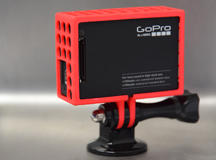 GoPro Open Case 3d printed
