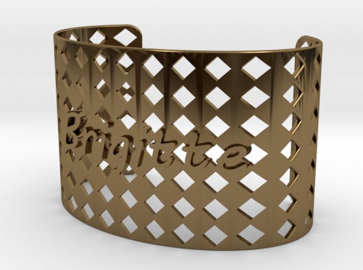 Bracelet Brigitte 43 mm 3d printed