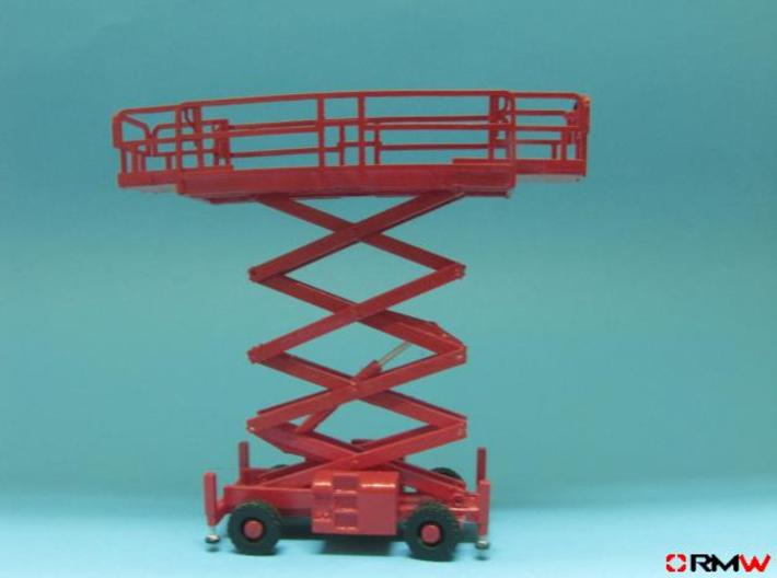 HO/1:87 Aerial working platform tall kit 3d printed [en]painted & assembled [de] bemalt und gebaut
