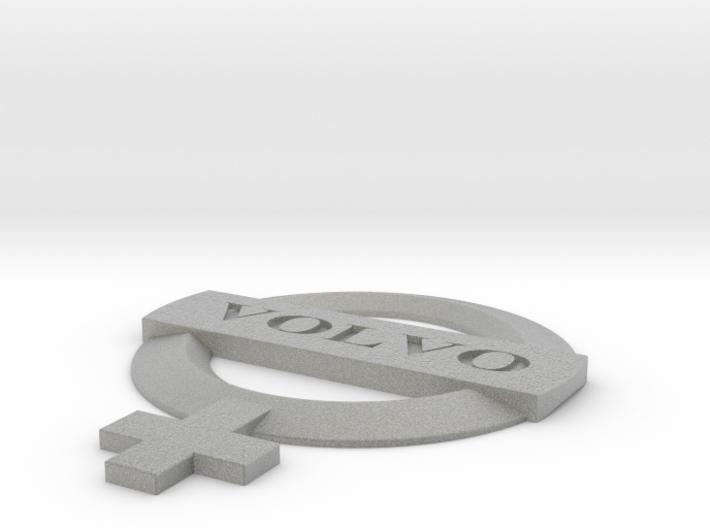 Volvo Woman 3d printed