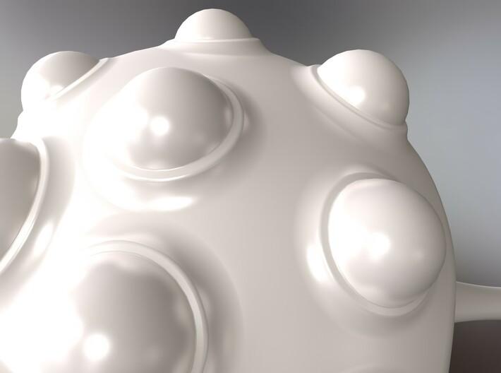GeOrganic Sculpture I 3d printed