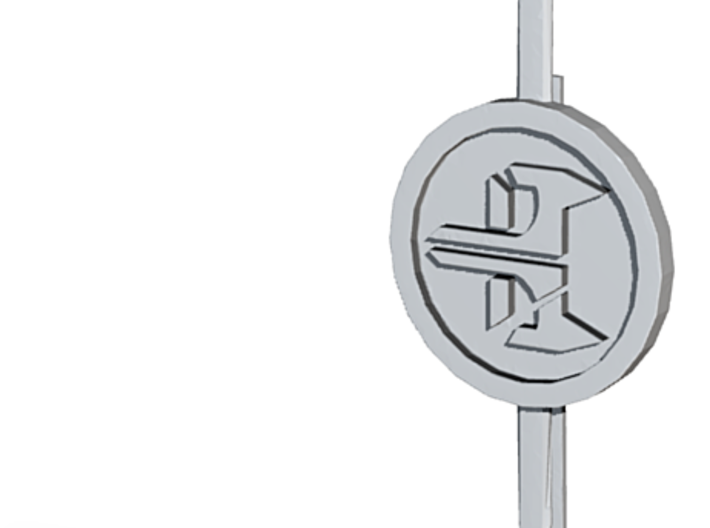 Black Fox Tie Pin 3d printed