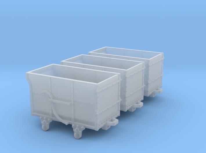 3x FR Dandy wagons 3d printed