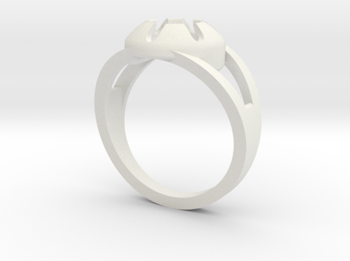 Matrix Ring 3d printed