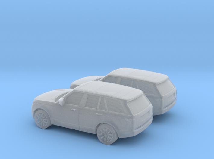 1/160 2X 2013 Range Rover Vogue 3d printed