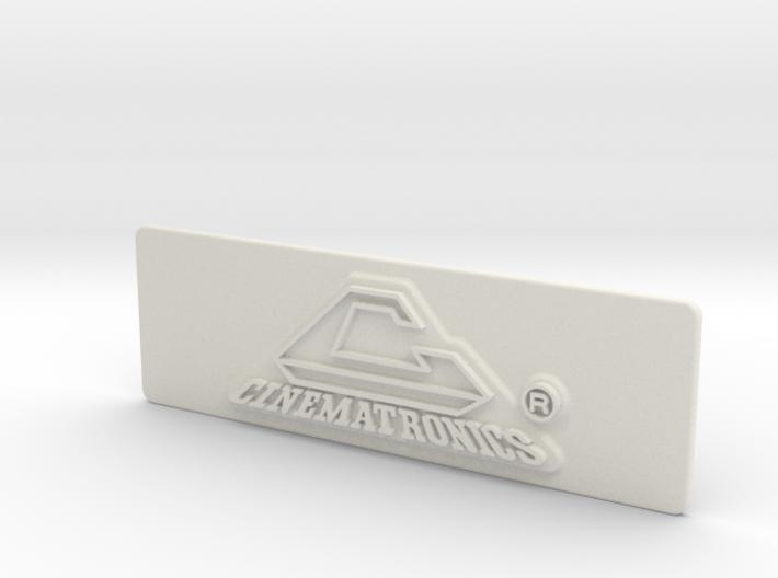 Cinematronics Coin Door Tag 3d printed
