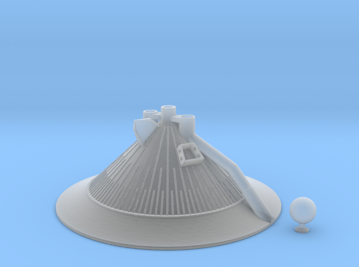 Saturn IB, S-IVB 200 Thrust Structure 1/144 scale 3d printed